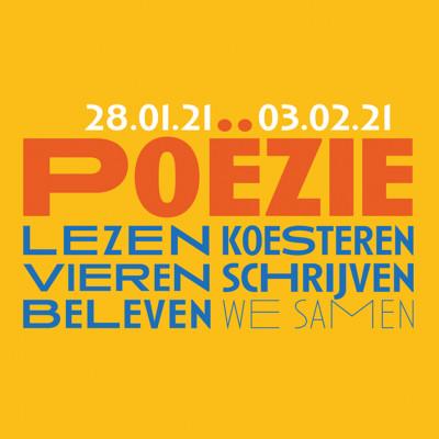 Poëzieweek 2021  ///  28 januari - 3 februari